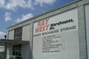 Ray West Warehouses exterior